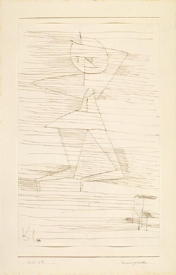 Paul Klee-Hinausgetrieben-1929