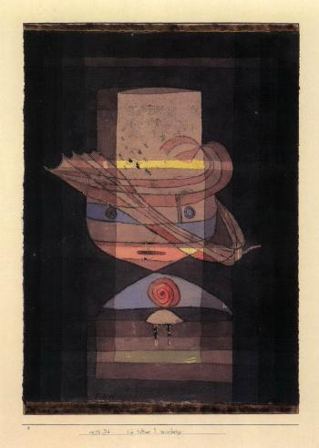 Paul Klee-Die Kleine J Reisefertig (Small J Ready To Set Out)-1928
