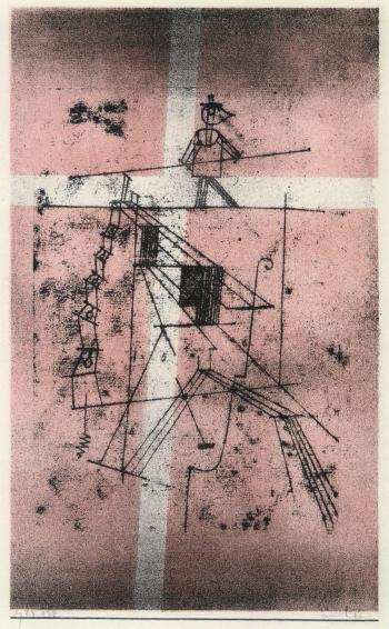 Paul Klee-Der Seiltanzer (Tightrope Walker)-1923