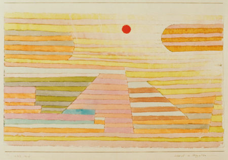 Paul Klee-Abend in Aegypten (Evening In Egypt)-1929