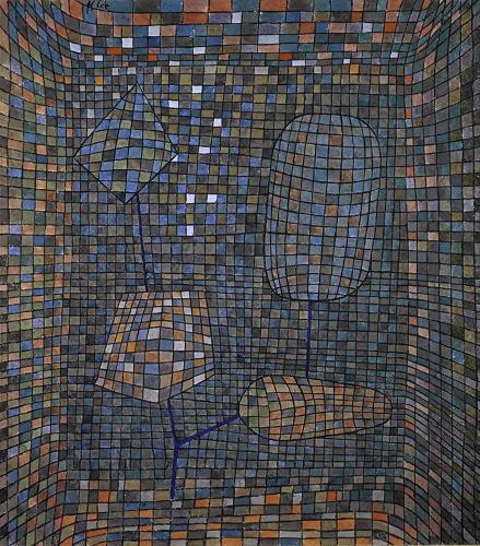 Paul Klee-Kunstliche Symbiose (Artistic Symbiosis)-1934