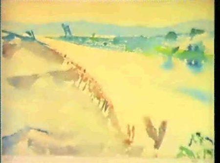 Paul Klee-Sugiez, Der Broye-Kanal Gegen Den Murtensee (Sugiez With Broye Canal And Murtensee)-1910