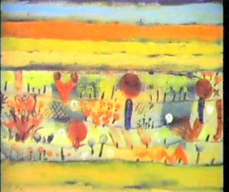 Paul Klee-Garten In Der Ebene I (Garden In The Plain)-1920