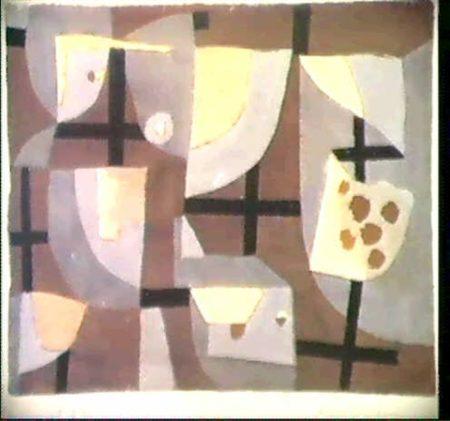 Paul Klee-Schwarze Fenster-Kreuze-1938