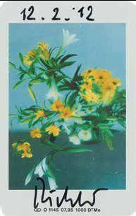 Gerhard Richter-Blumen (Flowers)-2012