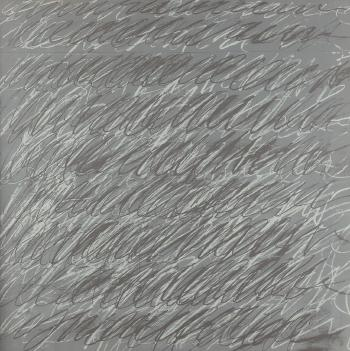 Cy Twombly-On the Bowery-1971