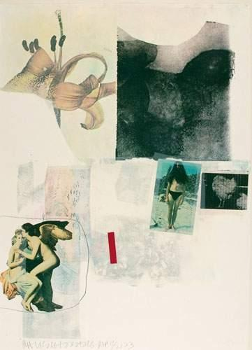 Robert Rauschenberg-Robert Rauschenberg - Poster For Congressman John Brademas's Re-election-1972