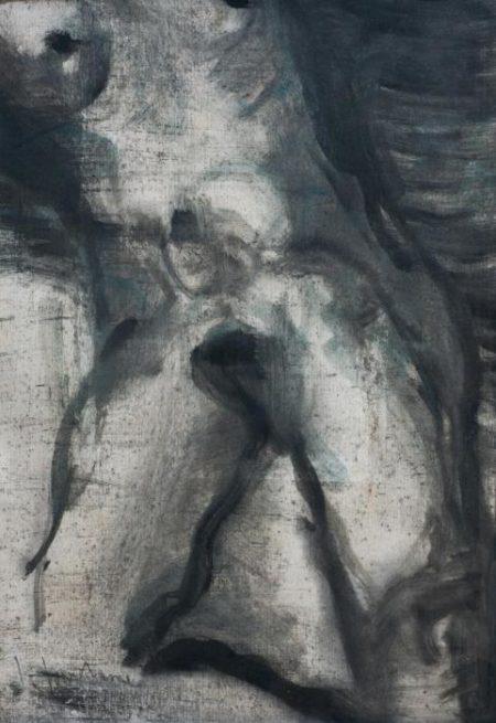 Lucio Fontana-Desnudo-