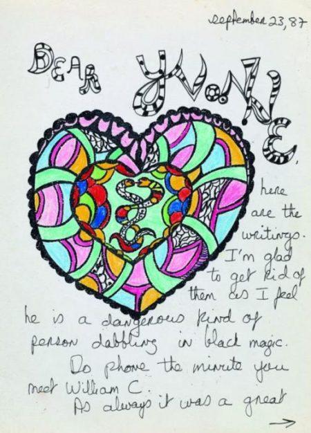Niki de Saint Phalle-Dear Yvonne-1987