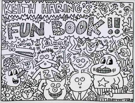 Keith Haring-Keith Haring - Fun Book-1985
