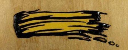 Roy Lichtenstein-Brushstroke-1970