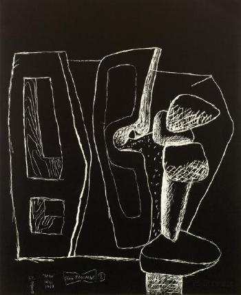 Le Corbusier-Serie Panurge-1961