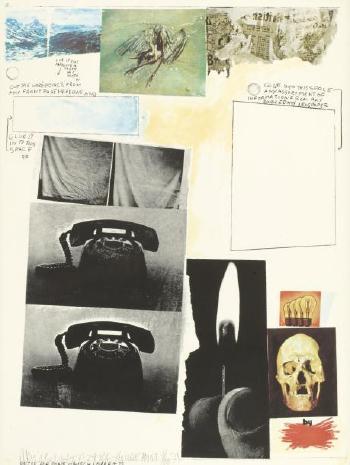 Robert Rauschenberg-Robert Rauschenberg - Poster For Peace (Composition)-1971