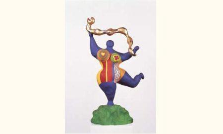 Niki de Saint Phalle-Nana au serpent-