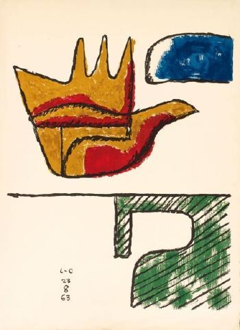 Le Corbusier-La main ouverte-1963