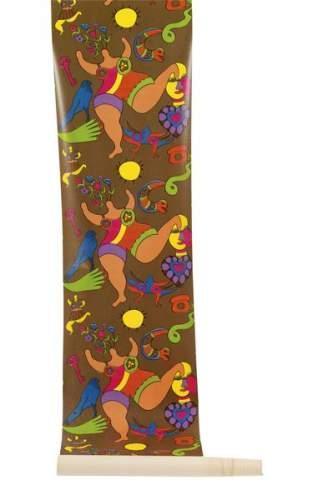 Niki de Saint Phalle-Rouleau de papier peint Niki-1972