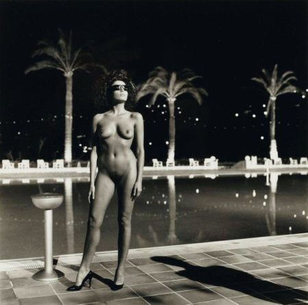 Helmut Newton-Pool Old Beach Hotel Monte Carlo-1981