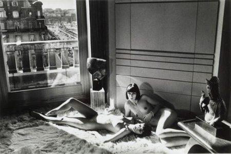 Helmut Newton-Mannequins quai d'orsay 1-1977