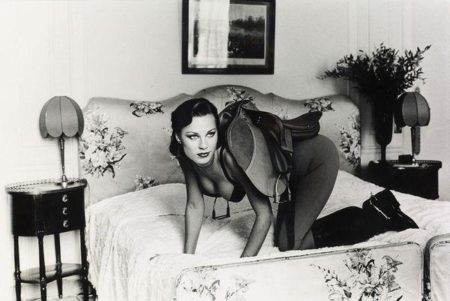 Helmut Newton-Saddle I-