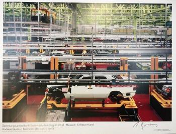 Andreas Gursky-Mercedes (rastatt)-1993