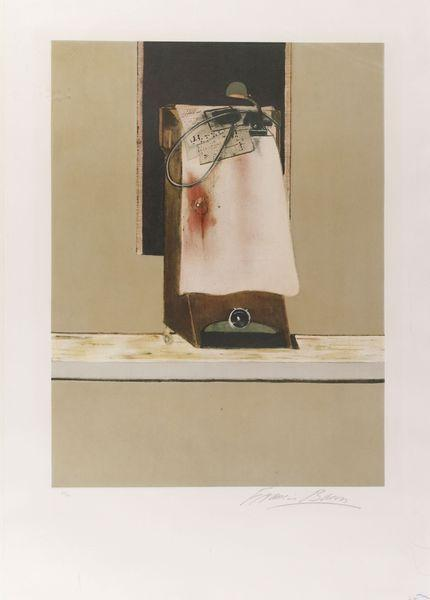 Francis Bacon-Triptych, right panel-1987