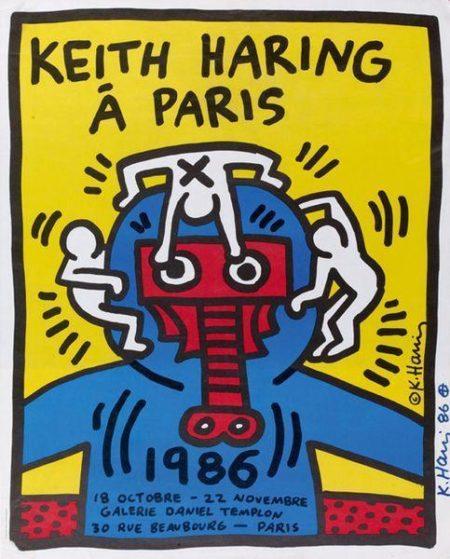 Keith Haring-Keith Haring - Keith Haring a Paris-1986