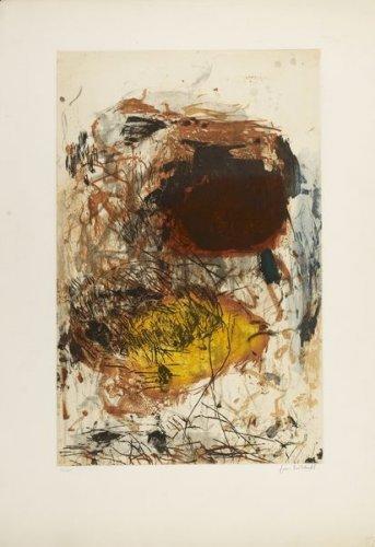 Joan Mitchell-Planche de la serie Sunflower I-1970