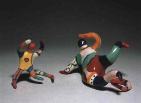 Niki de Saint Phalle-Couple d'acrobates, ou Les Singes-1968