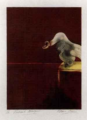 Francis Bacon-Second Version of Triptych (Partie C)-1989