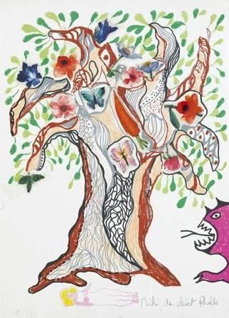 Niki de Saint Phalle-Arbre de vie-