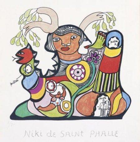 Niki de Saint Phalle-Sans titre-