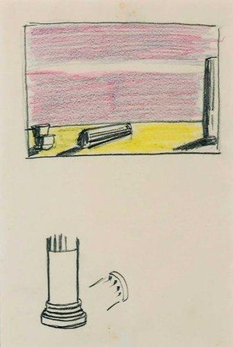 Roy Lichtenstein-Ruins (Studies)-1965