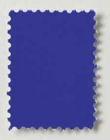 Yves Klein-Timbre Bleu-1958