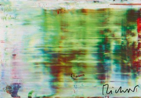 Abstraktes Bild 858-5 (Abstract Painting 858-5)-1999