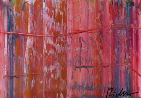 Abstraktes Bild 858-7 (Abstract Painting 858-7)-1999