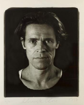 Chuck Close-Willem Dafoe-1997