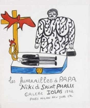 Niki de Saint Phalle-Les funerailles de papa-
