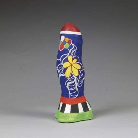 Niki de Saint Phalle-Obelisque, (Obelisque aux fleurs)-1987