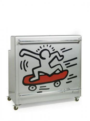 Keith Haring-Keith Haring - Meuble bar-