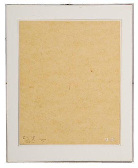 Jasper Johns-Untitled-