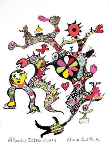 Niki de Saint Phalle-Sans titre-1970