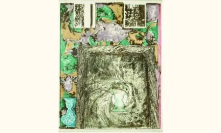 Jasper Johns-Untitled (Universal Limited Art Editions 257)-1992