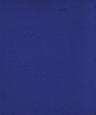 Yves Klein-Monochrome IKB 260-1959
