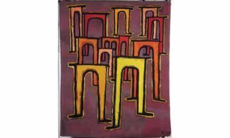 Paul Klee-La Revolution Du Viaduc-1974
