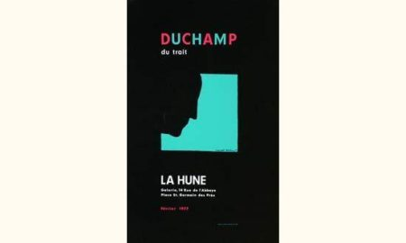 Marcel Duchamp-Duchamp Du Trait-