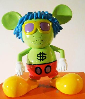 Keith Haring-Keith Haring - Andy Mouse Toy-