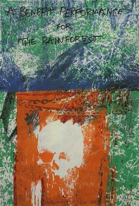 Robert Rauschenberg-Robert Rauschenberg - A Benefit Performance for the Rainforest-1988