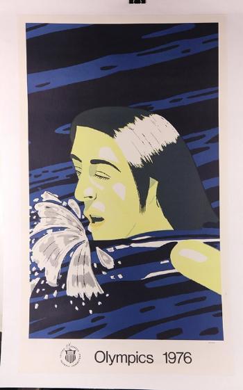 Alex Katz-Olympic Swimmer-1976