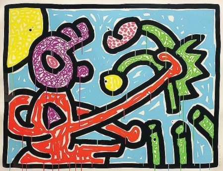 Keith Haring-Keith Haring - Flowers Suite-1990