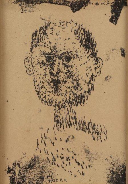 Kopf - Bartiger Mann-1925